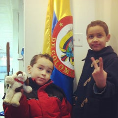 Photo taken at Colombian Consulate by Fulanito R. on 3/13/2012