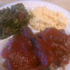 Photo taken at Mrs. Smokeys Real Pit BBQ by Jim K. on 6/19/2012
