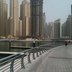 Photo taken at Dubai Marina Walk ممشى مرسى دبي by thananyar S. on 5/24/2012