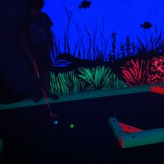 Photo taken at GLOWGOLF by Jay B. on 7/14/2012
