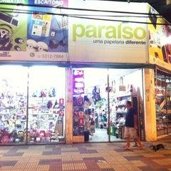 Photo taken at Papelaria Paraíso by Alberto M. on 3/15/2012