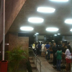 Photo taken at Teatro Municipal Severino Cabral by Oswaldo L. on 4/27/2012