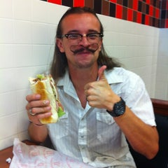 Photo taken at Jimmy John's by Ben E. on 7/14/2012