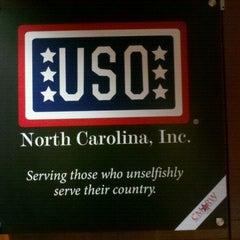 Photo taken at USO Lounge by John M. on 5/22/2012