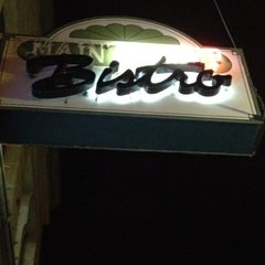 Photo taken at Main Street Bistro by Just H. on 4/11/2012