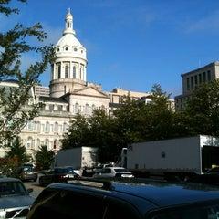 Photo taken at Baltimore City Hall by Dankwa B. on 7/31/2012