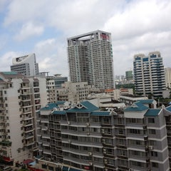 Photo taken at 广西沃顿国际大酒店 Guangxi Wharton International Hotel by Witchaphun P. on 7/8/2012