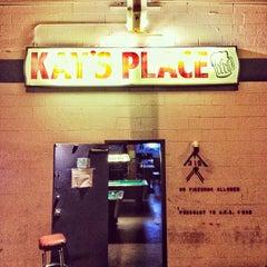 Photo taken at Kay's Place Bar & Lounge by Tim M. on 4/1/2012