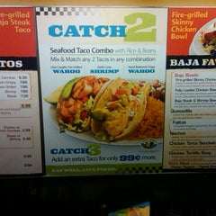 Photo taken at Baja Fresh by Frank M. on 7/20/2012