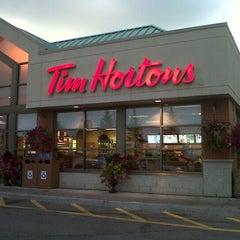 Photo taken at Tim Hortons by Doug T. on 9/9/2012