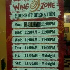 Photo taken at Wing Zone by David V. on 5/8/2012