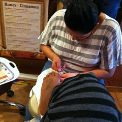 Photo taken at Lucky Nail Salon by Raquel H. on 3/8/2012