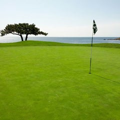 Photo taken at Pebble Beach Golf Links by Khee L. on 3/24/2012