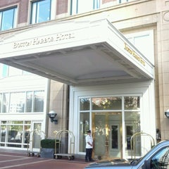 Photo taken at Boston Harbor Hotel by Barry C. on 8/27/2012