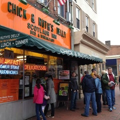 Photo taken at Chick & Ruth's Delly by Urban Alarm (. on 3/25/2012