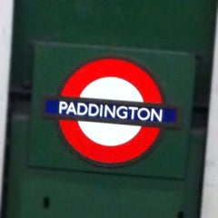 Photo taken at Paddington London Underground Station (District, Circle and Bakerloo lines) by That John on 5/12/2012