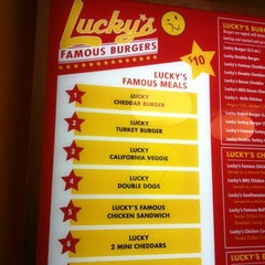 Photo taken at Lucky's Famous Burgers by Chris C. on 5/18/2012