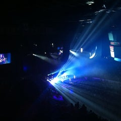Photo taken at Scotiabank Saddledome by Kelley S. on 5/17/2012