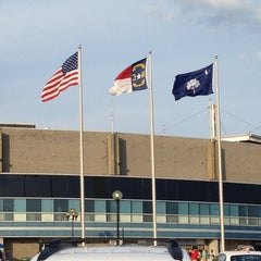 Photo taken at Knights Stadium by Brent W. on 8/11/2012