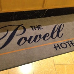 Photo taken at Powell Hotel by Christopher J. on 3/28/2012