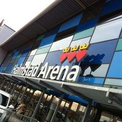 Photo taken at Halmstad Arena by Dag S. on 4/13/2012