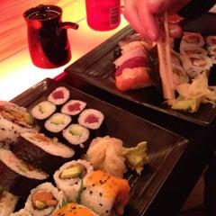 Photo taken at Sushi Me by Jeroen B. on 4/20/2012