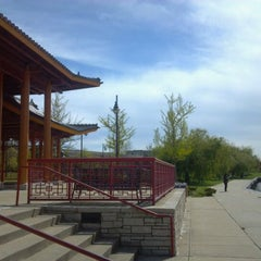 Photo taken at Ping Tom Memorial Park by Ed S. on 4/21/2012