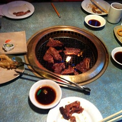 Photo taken at Shabusen Yakiniku House by Aaron on 8/20/2012