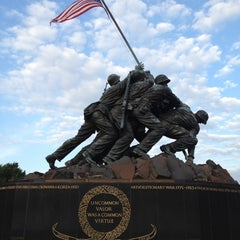 Photo taken at US Marine Corps War Memorial (Iwo Jima) by Richard K. on 6/14/2012