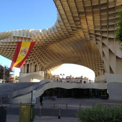 Photo taken at Metropol Parasol by José Luis B. on 6/15/2012