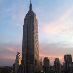 Photo taken at Empire State Building by T M. on 4/29/2012
