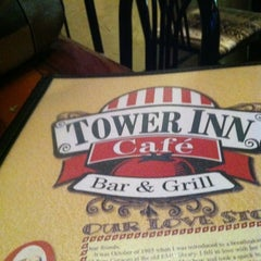 Photo taken at Tower Inn Cafe by Julie B. on 6/14/2012