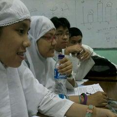 Photo taken at SMA Islam Al-Azhar 1 by Muhammad L. on 2/24/2012