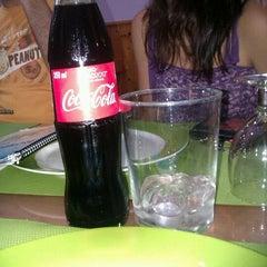 Photo taken at Pizzeria Las Delicias by Diana R. on 6/3/2012