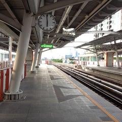 Photo taken at BTS สะพานควาย (Saphan Khwai) N7 by Kanchana K. on 6/29/2012