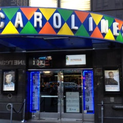 Photo taken at Carolines on Broadway by Dave and Amy J. on 6/23/2012
