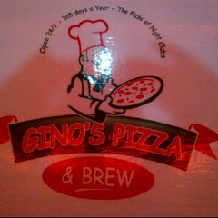 Photo taken at Gino's Pizza & Brew by Kevin A. on 2/12/2012