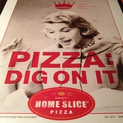 Photo taken at Home Slice Pizza by Adam K. on 2/6/2012