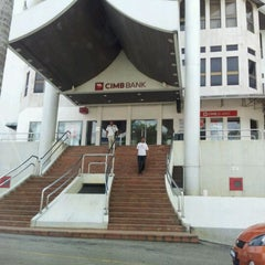 Photo taken at CIMB Bank by Shafie S. on 5/13/2012