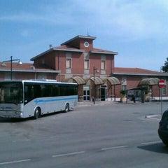 Photo taken at Stazione Giulianova by Nando F. on 3/20/2012