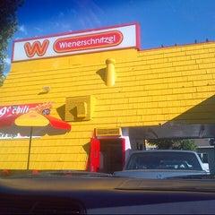 Photo taken at Wienerschnitzel - San Jose by robert r. on 8/22/2012
