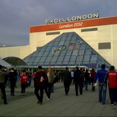 Photo taken at ExCeL London by Daniel S. on 7/31/2012