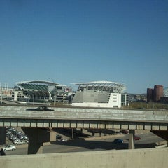 Photo taken at Bengals tailgate lot 1 by Brian M. on 3/26/2012