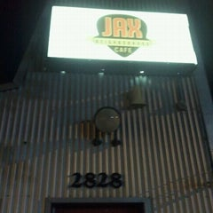 Photo taken at Jax Neighborhood Cafe by Nathan A. on 4/20/2012