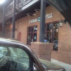 Photo taken at Caribou Coffee by Glenn G. on 3/21/2012