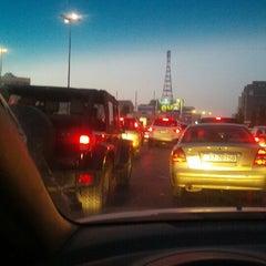 Photo taken at Waha Circle | دوار الواحة by Mamoun S. on 7/25/2012