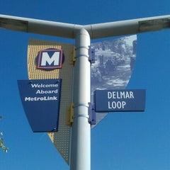 Photo taken at MetroLink - Delmar Loop Station by Jennifer S. on 6/5/2012