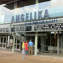 Photo taken at Angelika Film Center & Cafe by Jonathan B. on 4/29/2012