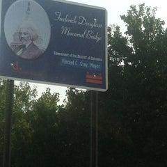 Photo taken at Frederick Douglass Memorial Bridge by Warren ♏. on 9/7/2012