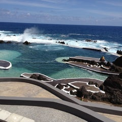 Photo taken at Piscinas Naturais do Porto Moniz by Hendrik L. on 6/2/2012